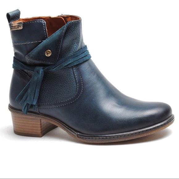PIKOLINOS Shoes - Pikolinos Zaragoza ocean ankle booties W9H-8800 11